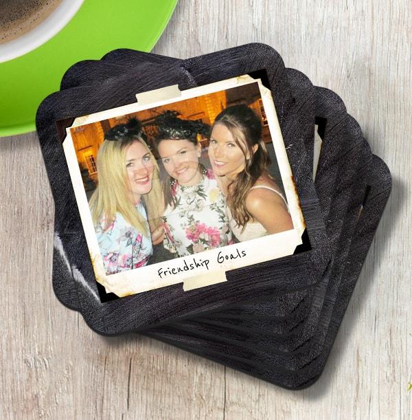 Polaroid Photo Memory Coaster