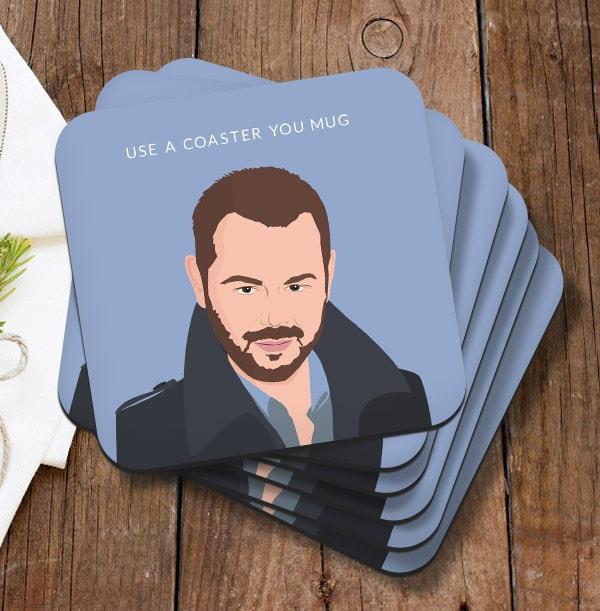You Mug Personalised Coaster