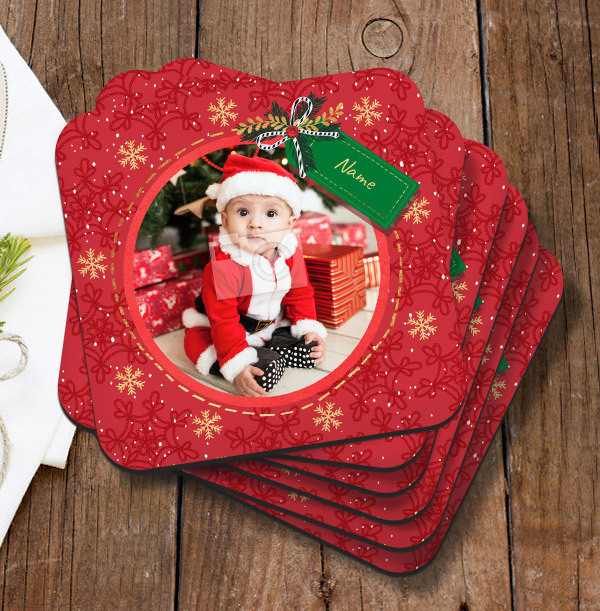 Christmas Photo Coaster