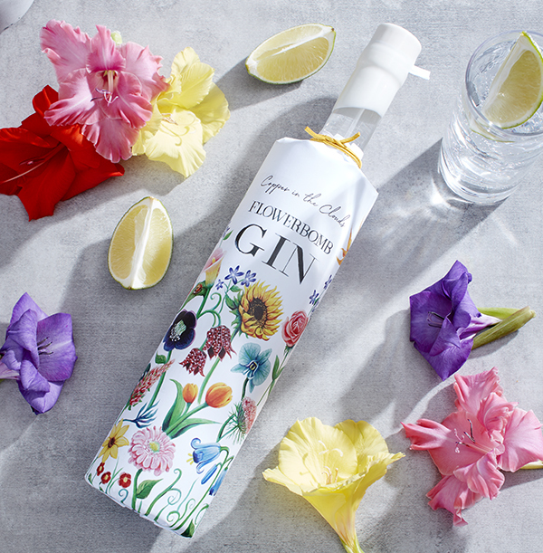 Copper In The Clouds Flowerbomb Gin