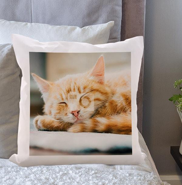 Cat Full Photo Cushion