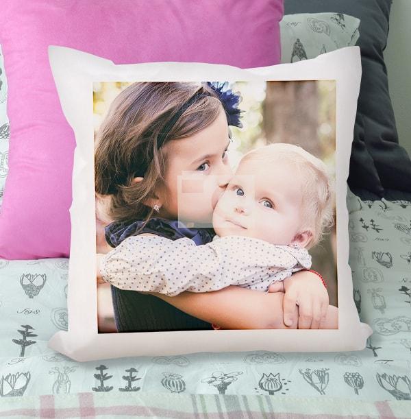 Full Photo Upload Personalised Cushion