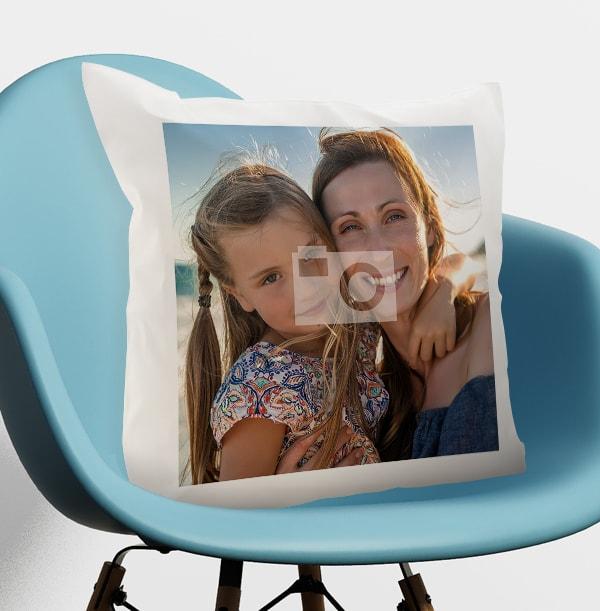 Full Photo Upload Mum Cushion