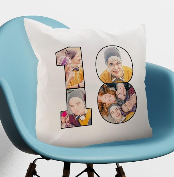 18 Multi Photo Cushion