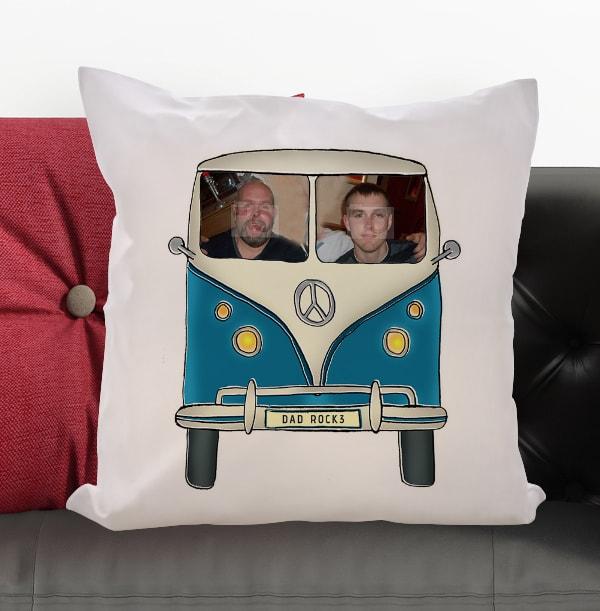 Personalised Camper Van Cushion