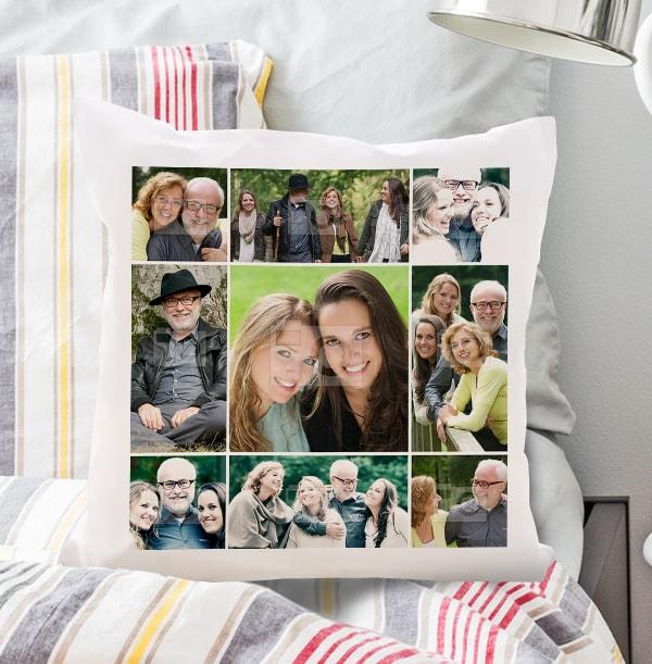 Multi Photo Upload Cushion