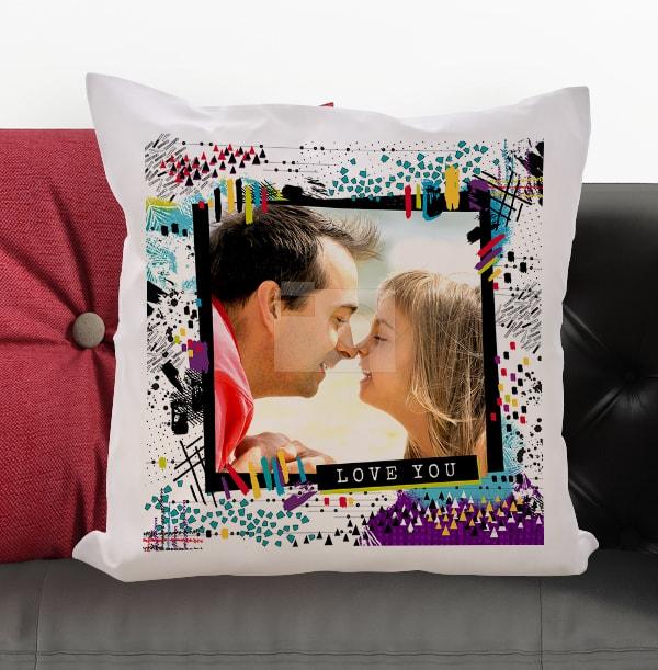 Love You Photo Cushion