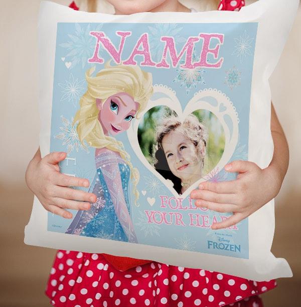 Disney Frozen Personalised Cushion