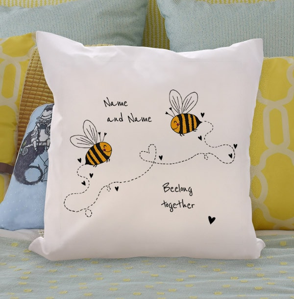 Beelong Together Personalised Cushion