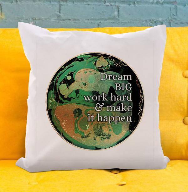 Dream Big Personalised Cushion