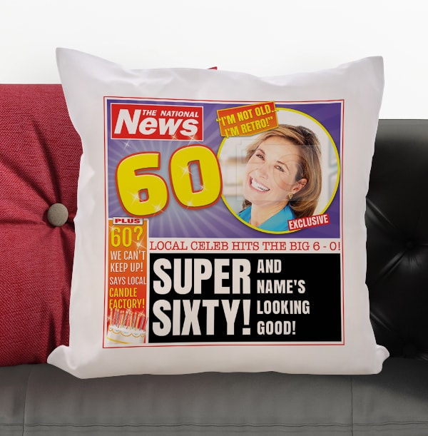 Super Sixty Photo Cushion