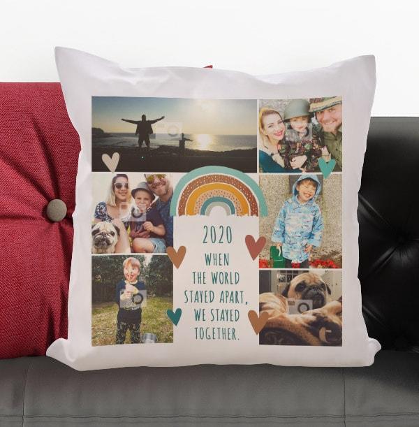 Over the Rainbow Multi Photo Cushion