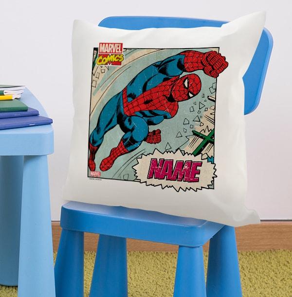 Spider-Man Personalised Cushion - Marvel Comics