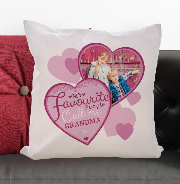 Favourite People Call Me Grandma Cushion
