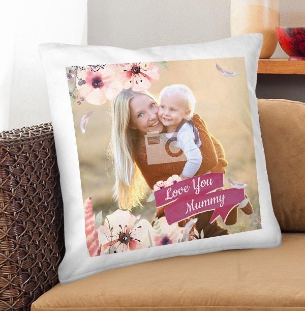 Love You Mummy Photo Cushion