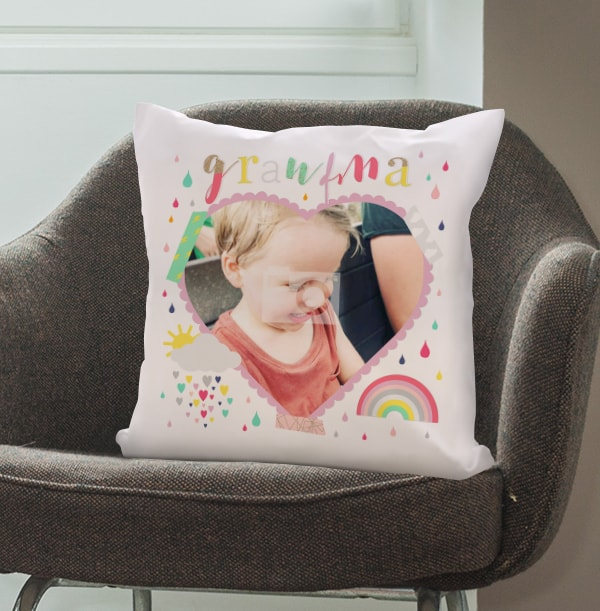 Grandma Sunshine Photo Cushion