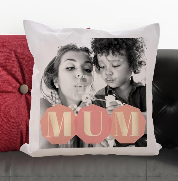 Mum Photo Upload Cushion