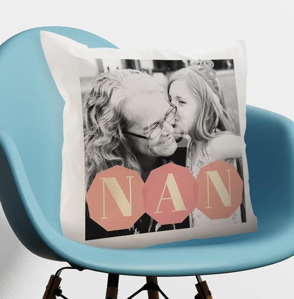 Nan Photo Upload Cushion