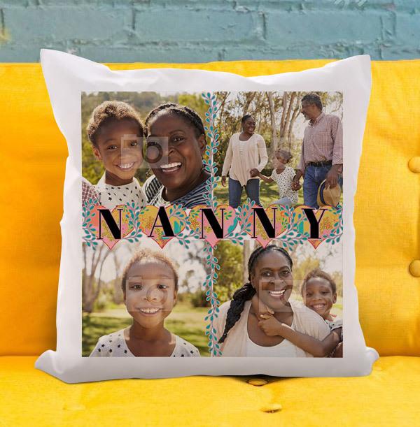 Nanny Multi Photo Cushion