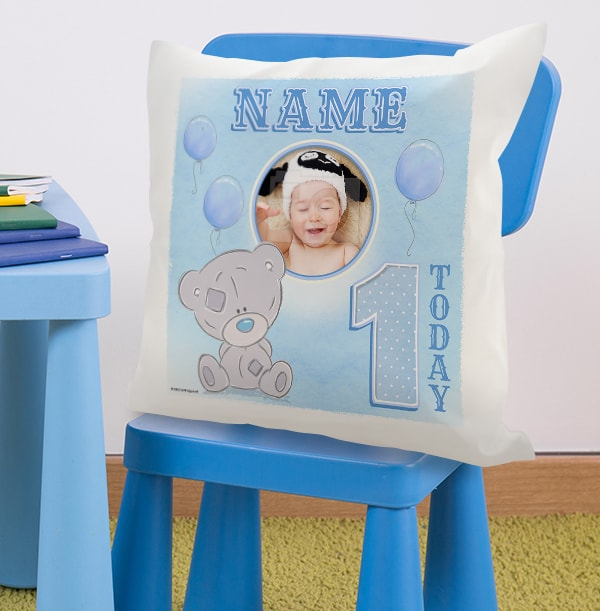 1 Today Blue Photo Cushion - Me To You