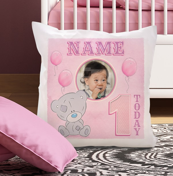 1 Today Pink Photo Cushion - Me To You