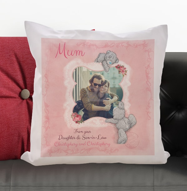 Me to You Personalised Mum Cushion