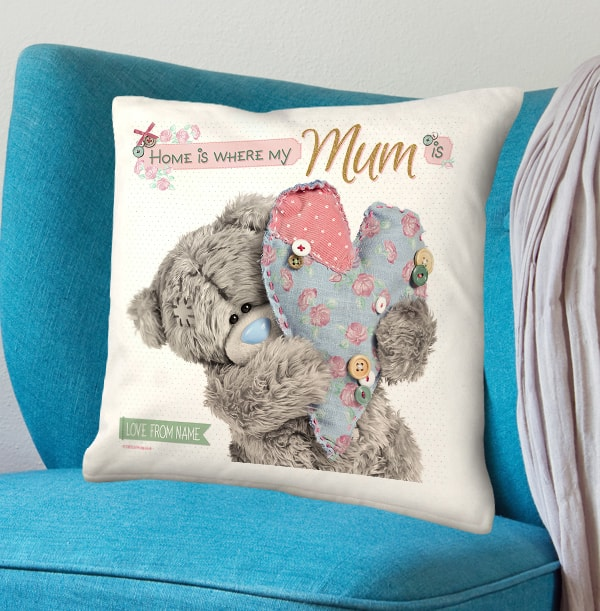 Home is Where Mum is Me to You Cushion