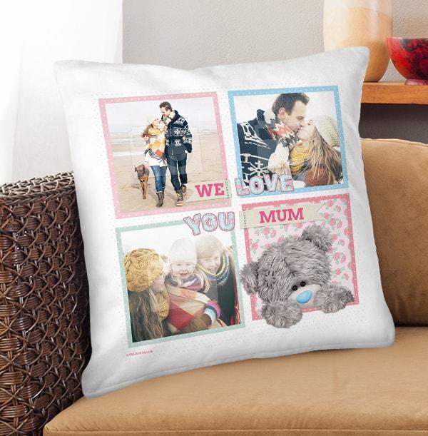 We Love You Mum Me to You Cushion