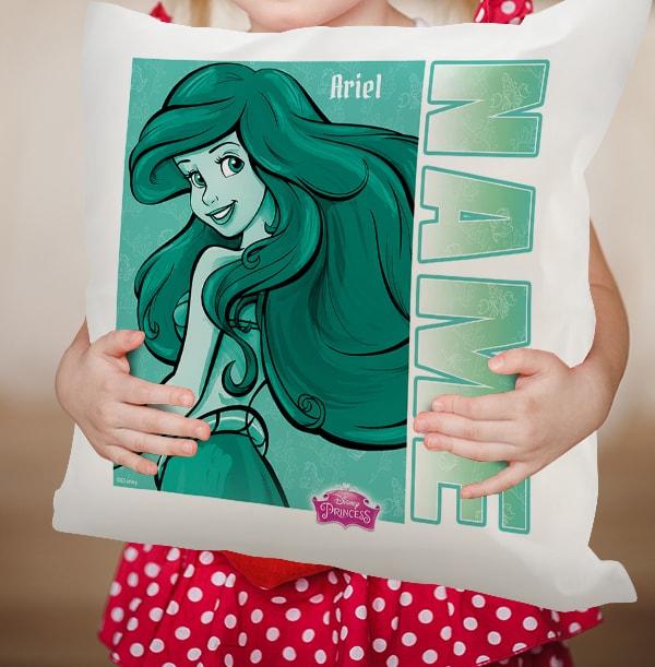 Personalised Little Mermaid Cushion - Ariel