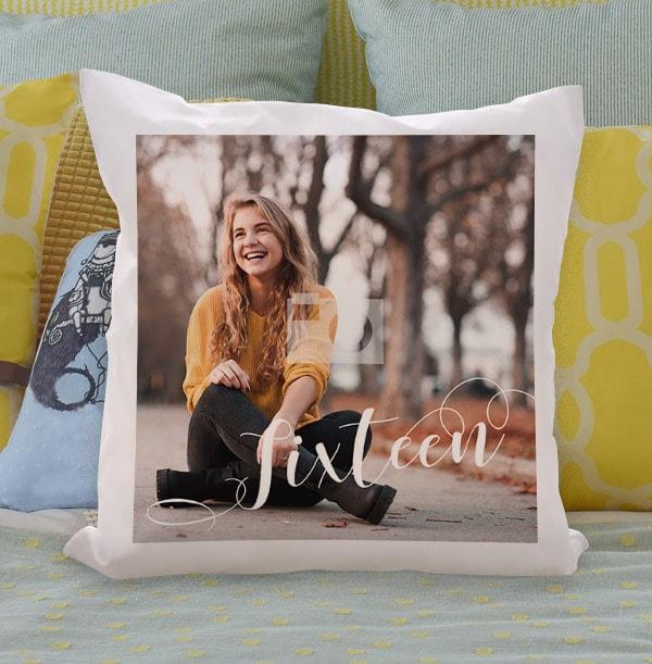 Sixteen Full Photo Cushion