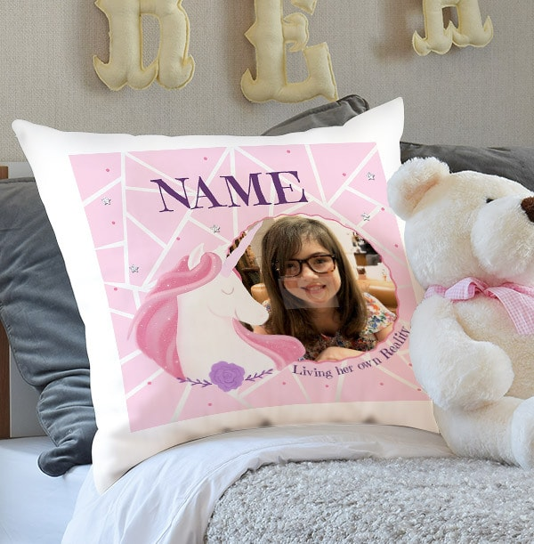 Unicorn Photo Cushion