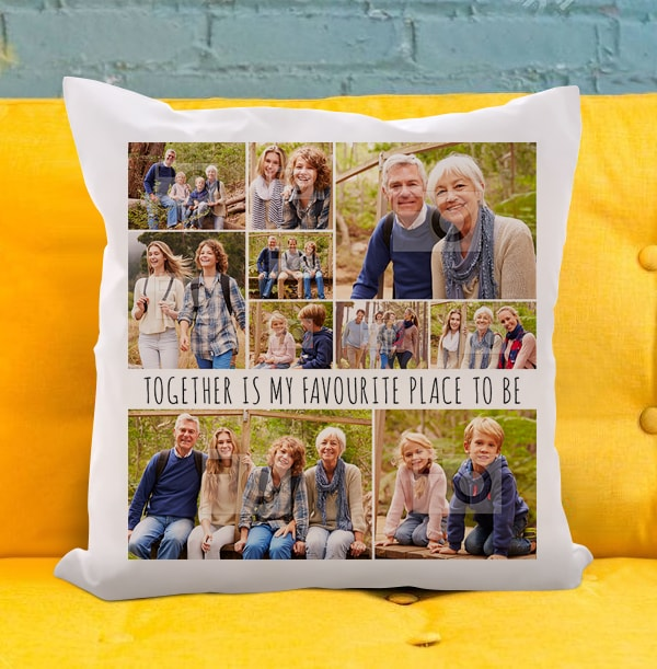 My Favourite Place Personalised Cushion