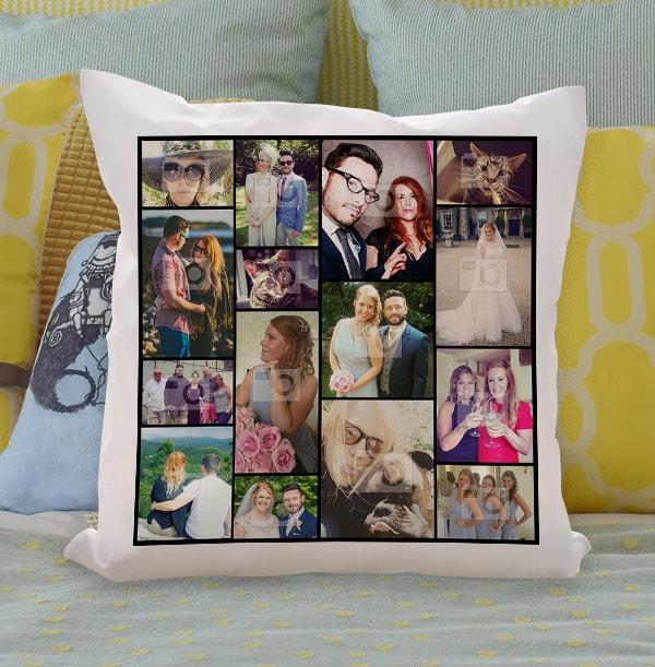 15 Photo Collage Cushion