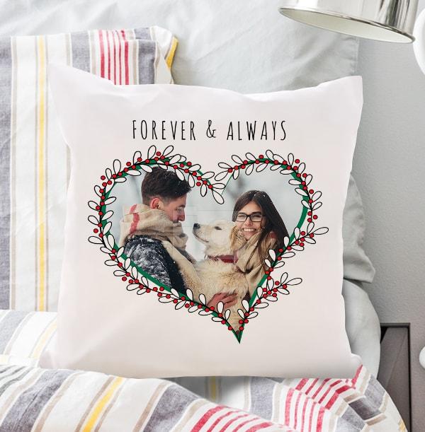 Forever & Always Photo Cushion