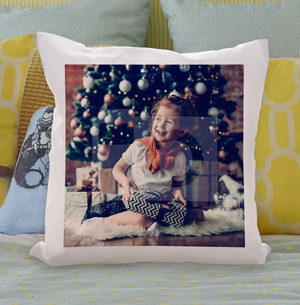 Christmas Full Photo Upload Personalised Cushion