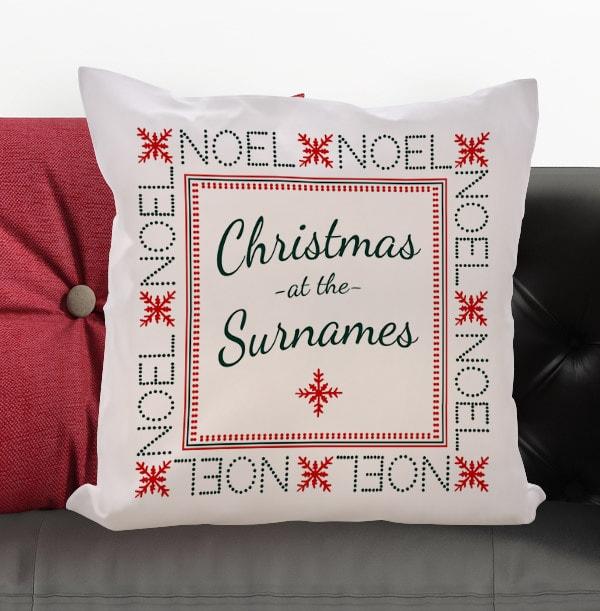 Noel Personalised Cushion