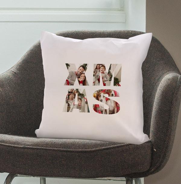 Xmas Multi-Photo Cushion