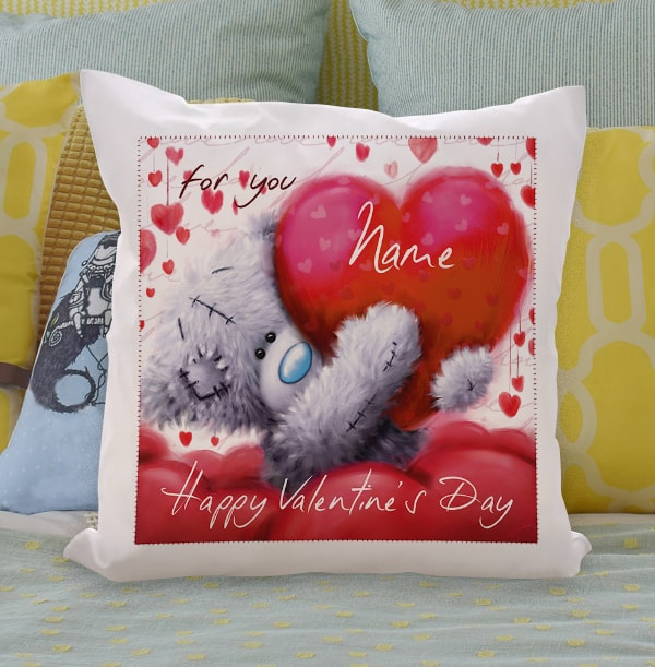 Me To You Happy Valentine's Day Cushion