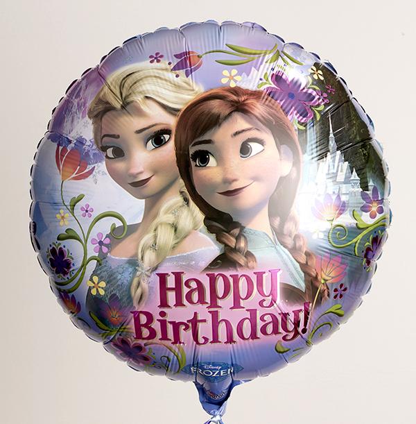 Elsa & Anna Birthday Balloon - Disney Frozen