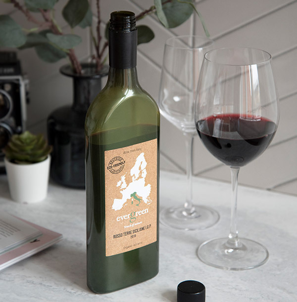 Evergreen Rosso Terre Siciliane 2019 - Letterbox Red Wine