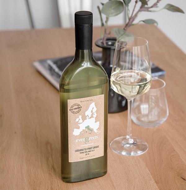 Evergreen Catarratto-Pinot Grigio 2019 - Letterbox White Wine