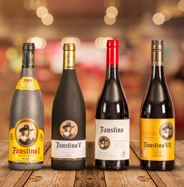 Faustino Rioja Red Wine Gift Pack