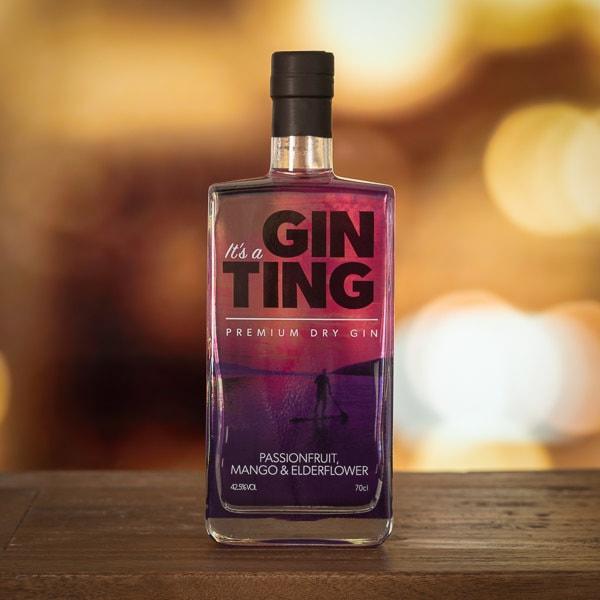 Gin Ting - Passion Fruit, Mango & Elderflower