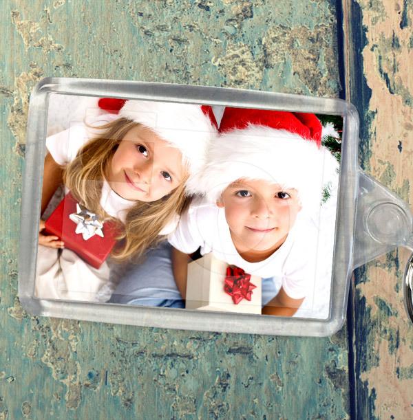 Christmas Full Photo Landscape Keyring