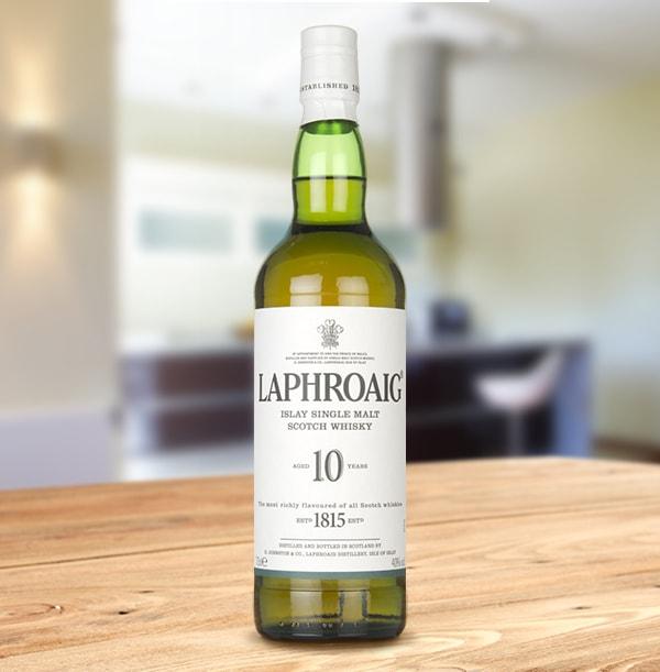 ZDISC 10/21 Laphroaig 10 Year Old Scotch Whisky