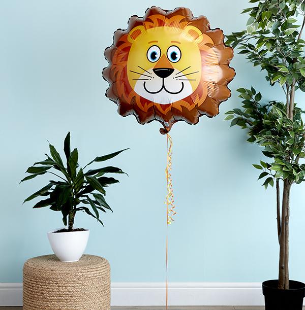 Lion Head Balloon