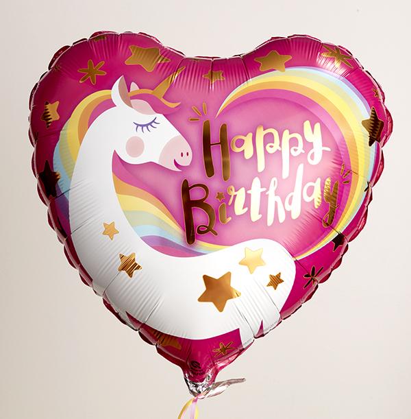 Magical Unicorn Birthday Balloon