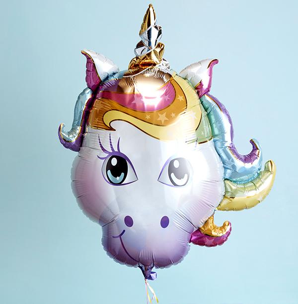 Magical Unicorn Head Balloon