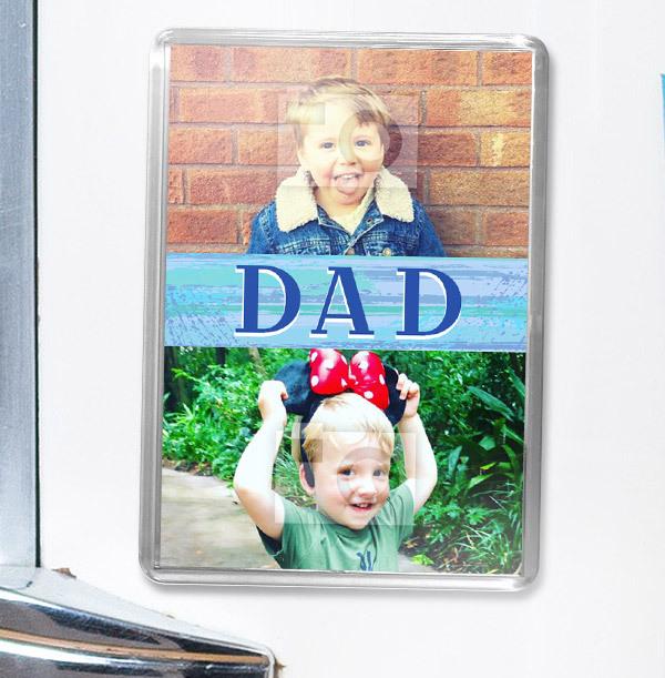 Dad 2 Photo Magnet