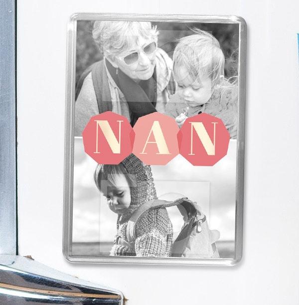 NAN Multi Photo Magnet